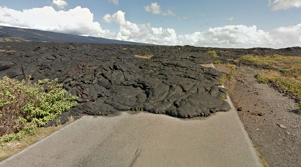 Hawaii, Kaimu-Chain of Craters Road