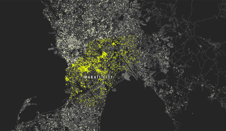 1. Makati City and Pasig, Philippines 258 selfie-takers per 100,000 people