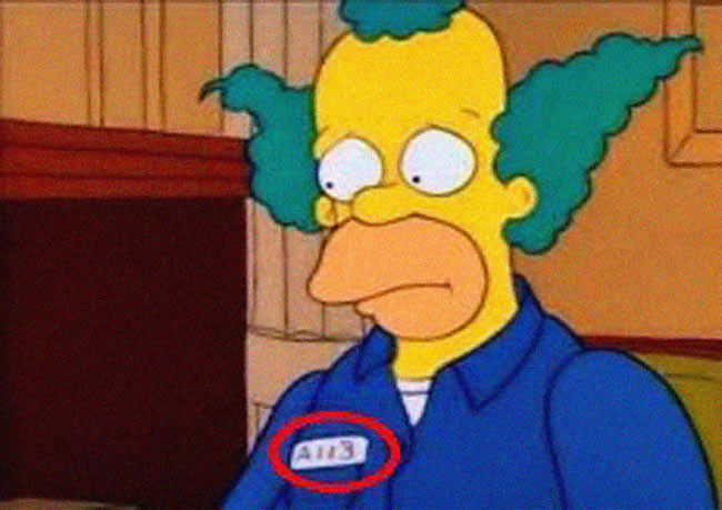 funny-The-Simpsons-clown-easter-egg