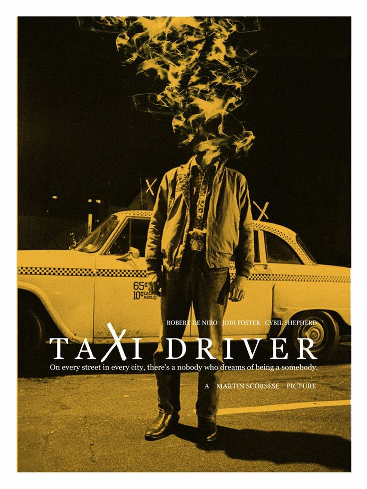 H4 Taxi Driver Fanart Poster