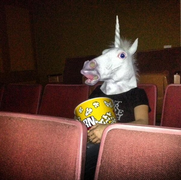 unicorno pop corn