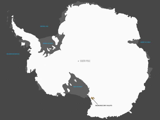Vino in Antartide